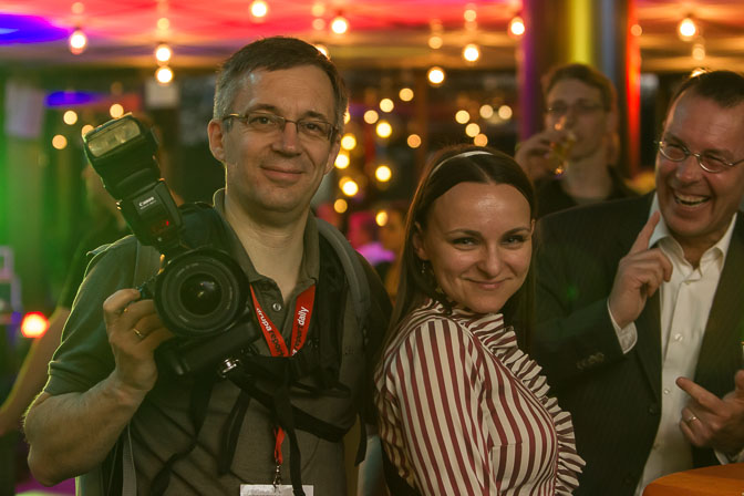 Eventfotografie in Düsseldorf - Spaß mit Gästen: für mehr Spaß an den Event- Fotos.