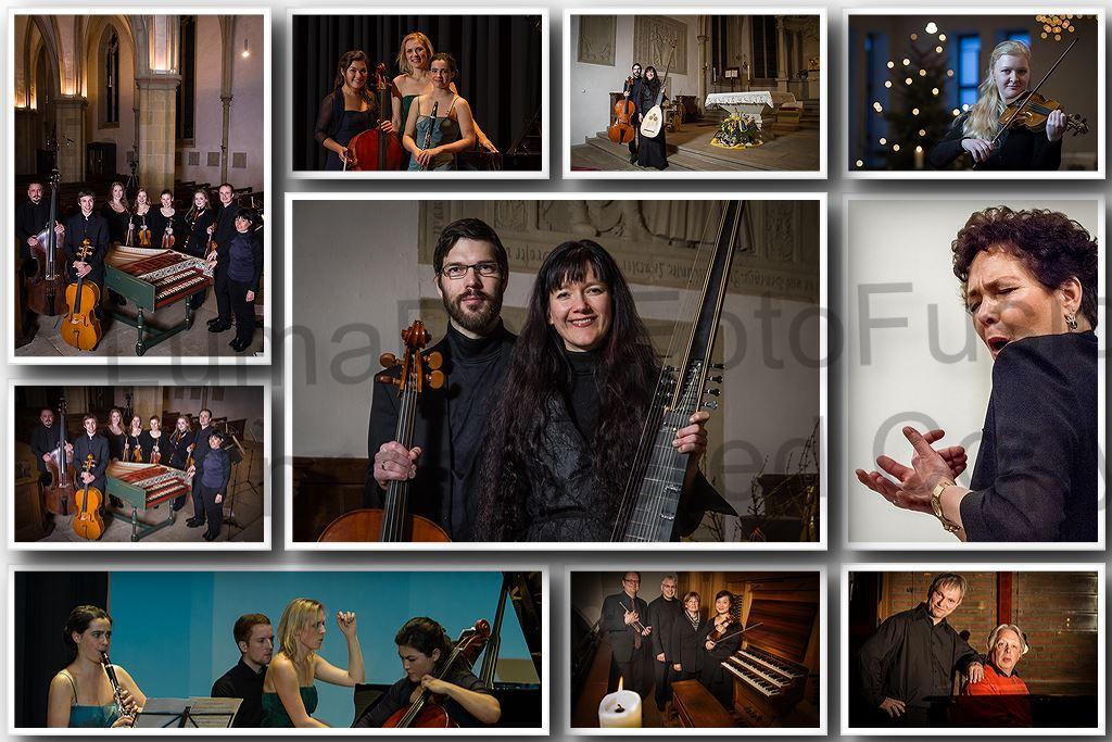 Fotos von Konzerten: Kammermusik, Duo, Fotos in Kirche in Münster.